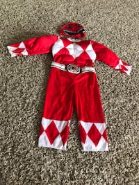 Power ranger costume... Size perfect for 2 & 3T Cockeysville, 21030