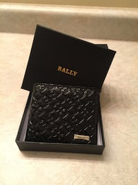 Beautiful Black Bally Leather Wallet Mississauga, L4Z 3M4