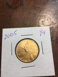 2005 1/4 Ounce MEXICAN BU GOLD Onza / Libertad ~ Only 500 Minted  Gainesville
