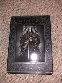 Game of thrones season 1 and book of dvds