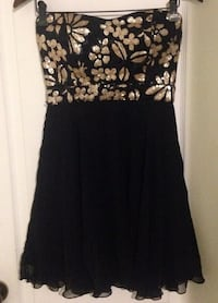 Size Small gold and black formal dress  Saskatoon, S7L 5R8