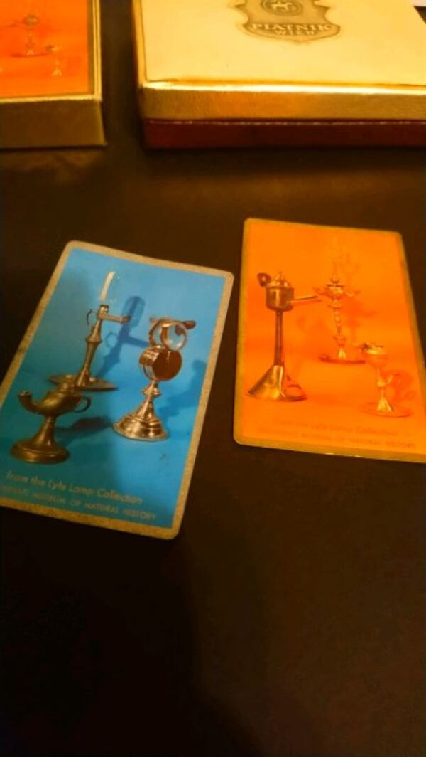 Vintage playing cards in box set  94eb0276-0c9a-47e9-a46e-6b9617ac9660