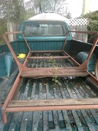 truck bed rack is upside-down it's 6foot intended for sml. Rig