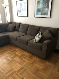 Amazing sectional with sleeper sofa New York, 10017