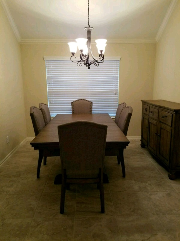 Used Ashley Furniture Tanshire Dining Room Set For In