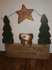 Country Primitive Christmas Decor...Vguc  Oshawa, L1J 4Z3