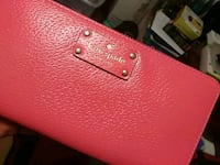red leather Michael Kors wallet Mississauga, L4T 3T6