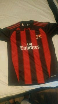 red and black Adidas Vodafone jersey Pleasant Hill, 71065
