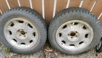 2 Winter Pike Tires With Rims