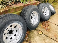 Tacoma/4Runner/Chevy wheels & tires Brentwood, 20722
