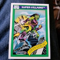 Marvel Comics Green Goblin card