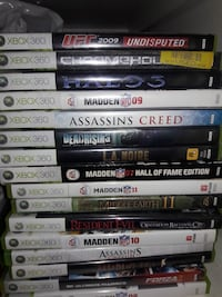 assorted Xbox 360 games Ontario, 91762