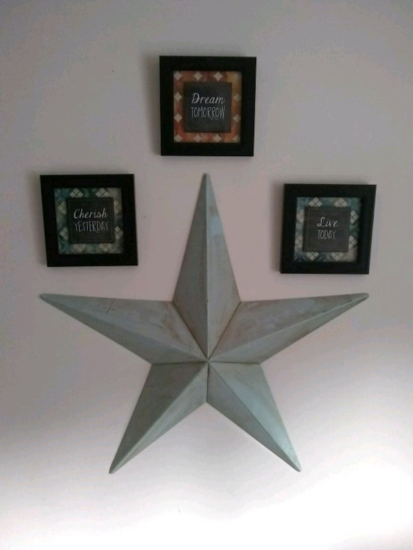 Pictures Rustic Metal Star Wall Decor