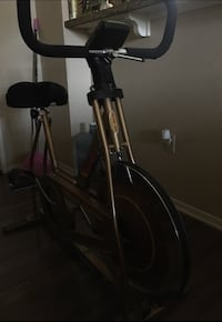 gold bronze stationary bike 2246 mi
