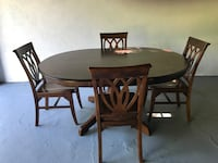 Pier 1 Mahogany Dining Table and Chairs Newton, 07860
