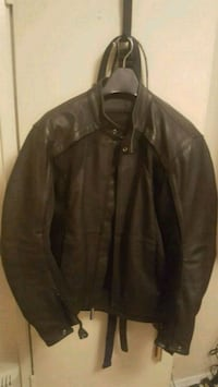 Street and steel riding jacket