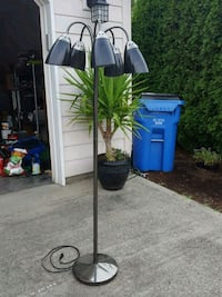 white and black floor lamp Vancouver, 98682