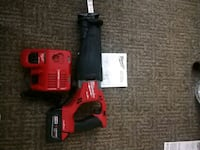 MILWAUKEE FUEL ONE KEY SAWZALL WITH CHARGER  Glendale, 85308