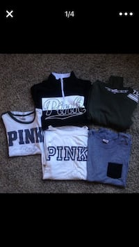6 VS Pink Shirts/Jacket Clinton, 84015