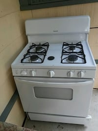 white 4-burner gas range oven San Antonio, 78226