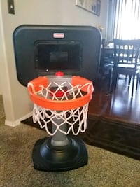 children's black and orange Fisher-Price basketball system toy Caldwell, 83605