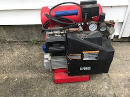 air compressor with attachments just needs new hose