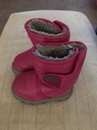 Toddler boots size 6.  Barely used.  Pick them up for next season.  ONO Hackensack, 07601