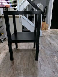 two stacked Ikea lack tables