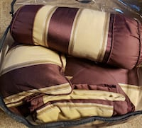 Comforter and pillow set (Queen) North Brunswick Township