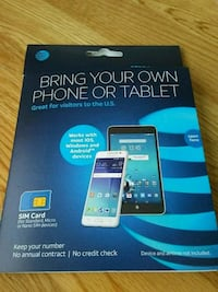 Sim card kit for AT&T Prepaid Rochester, 14606