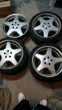 Mercedes AMG rims + champiro winter tires  Laval, H7R 0C2
