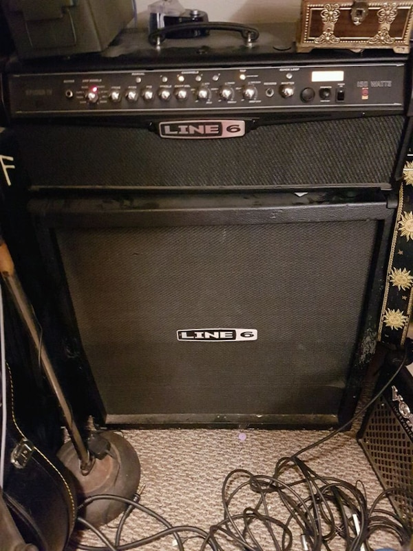 Line 6 spider iv with cab