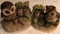 brown ceramic owl figurines Harpers Ferry, 25425