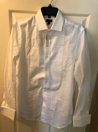 Jcrew tuxedo white shirt. New. Original $98. Small  Lexington, 40508