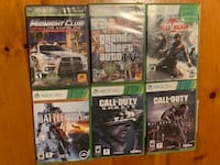 Xbox 360 games Beaconsfield, H9W 5X1