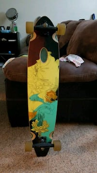 brown, black, and teal pin-tail board Federal Way, 98003