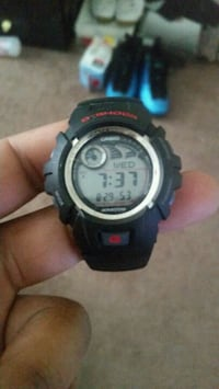 G Shock digital watch with black strap Edgewood, 21040