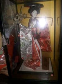 Chinese doll in case Houston, 77014