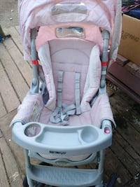 baby's white and pink Graco stroller Rydal, 30171