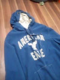 American Eagle (L) Blue with white hoodie Edmonton, T5A 0Z8