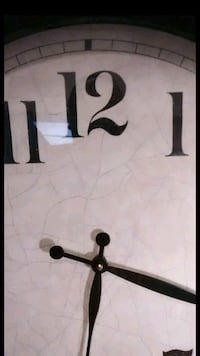 Rustic wall clock 24 inches MAKE ME AN OFFER  Palmdale, 93550