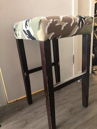 Re-upholstered Camouflage Chair made by ME!! Vancouver, V6B 0J7