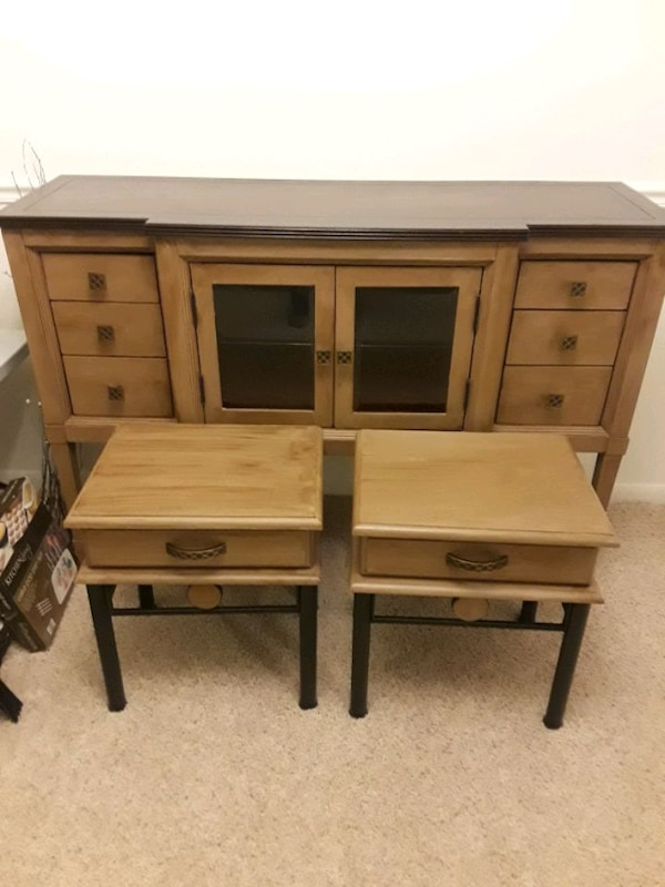 Buffet & end tables