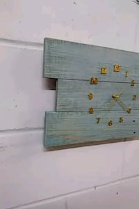 Upcycled Repurposed wall clock Jacksonville, 32256