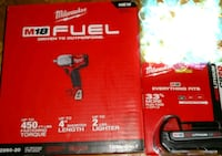 Brand New Milwaukee mid torque impact wrench and battery. Toronto
