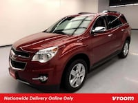 2015 Chevy Chevrolet Equinox Crystal Red Tintcoat hatchback Houston
