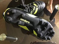 Black and yellow Umbro shoes Edmonton, T5X 2P7