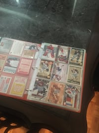 Hockey cards and baseball card collection