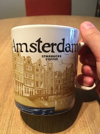 Amsterdam Starbucks Global Icon Series City Mug (NEVER USED) Arlington, 22201