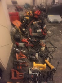 Large DISCOUNTED Assortment of Power Tools for Construction
